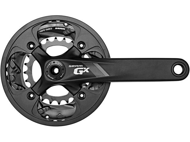 SRAM GX-1000 Kurbelgarnitur 38/24T 10-fach BB30 schwarz